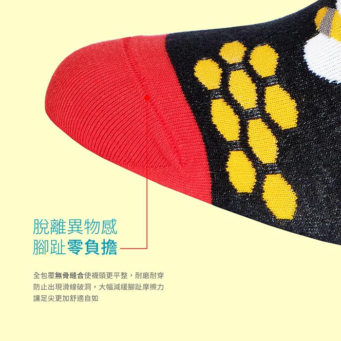 (複製)sokker®|浮繪巨浪4分之3襪