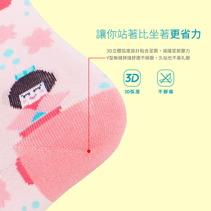 (複製)sokker®|櫻野鳥居4分之3襪