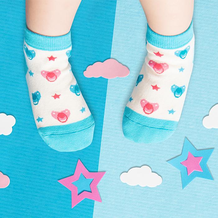 (複製)sokker®|冰甜筒防滑2分之1童襪