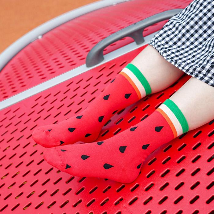 (複製)sokker®|紫戀甜筒4分之3襪