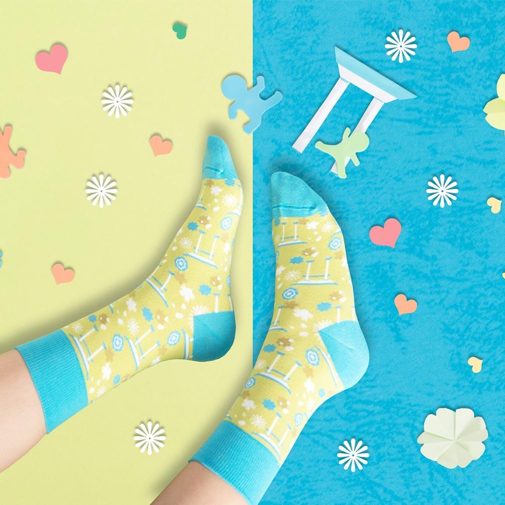 sokker®|櫻野鳥居4分之3襪