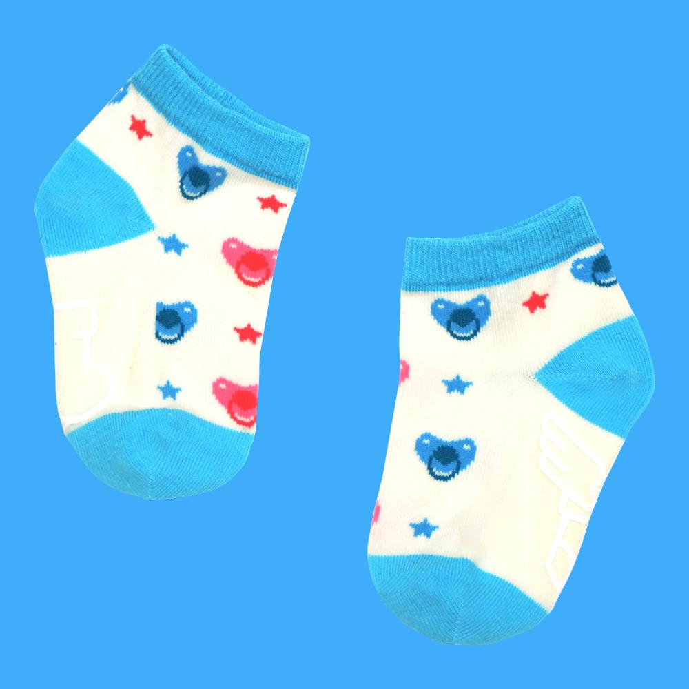 sokker®|奶嘴星防滑2分之1童襪