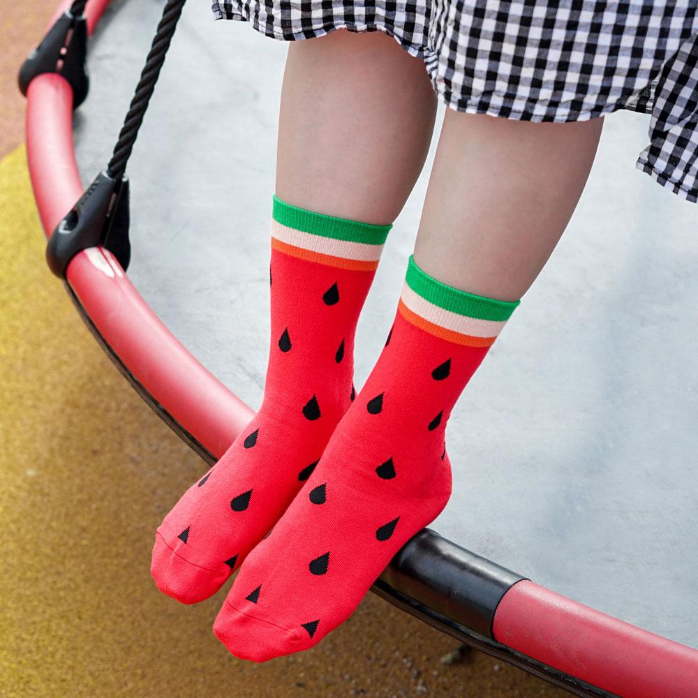 sokker®|殷戀西瓜4分之3襪
