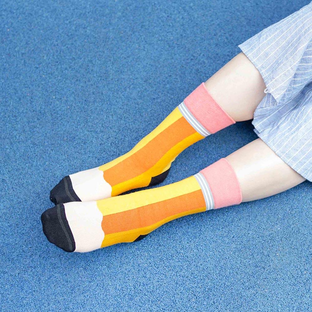 sokker®|滿分鉛筆4分之3襪