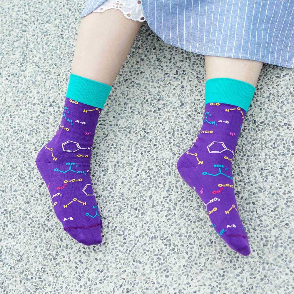 sokker®|化學公式4分之3襪