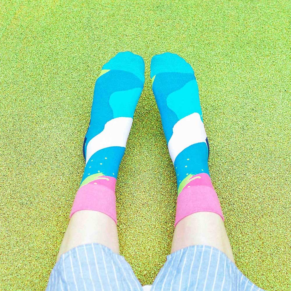 sokker®|蔚洋星空4分之3襪
