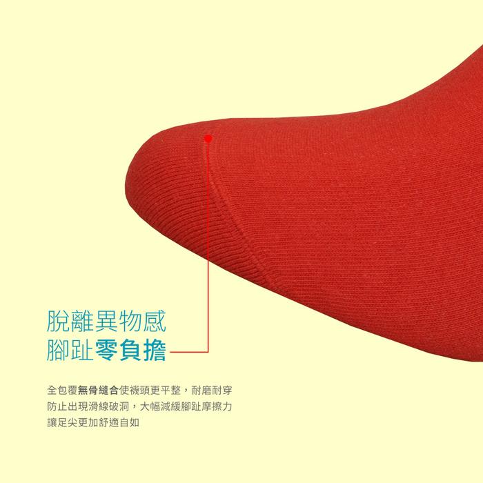 (複製)sokker® 紅鮭壽司4分之3襪