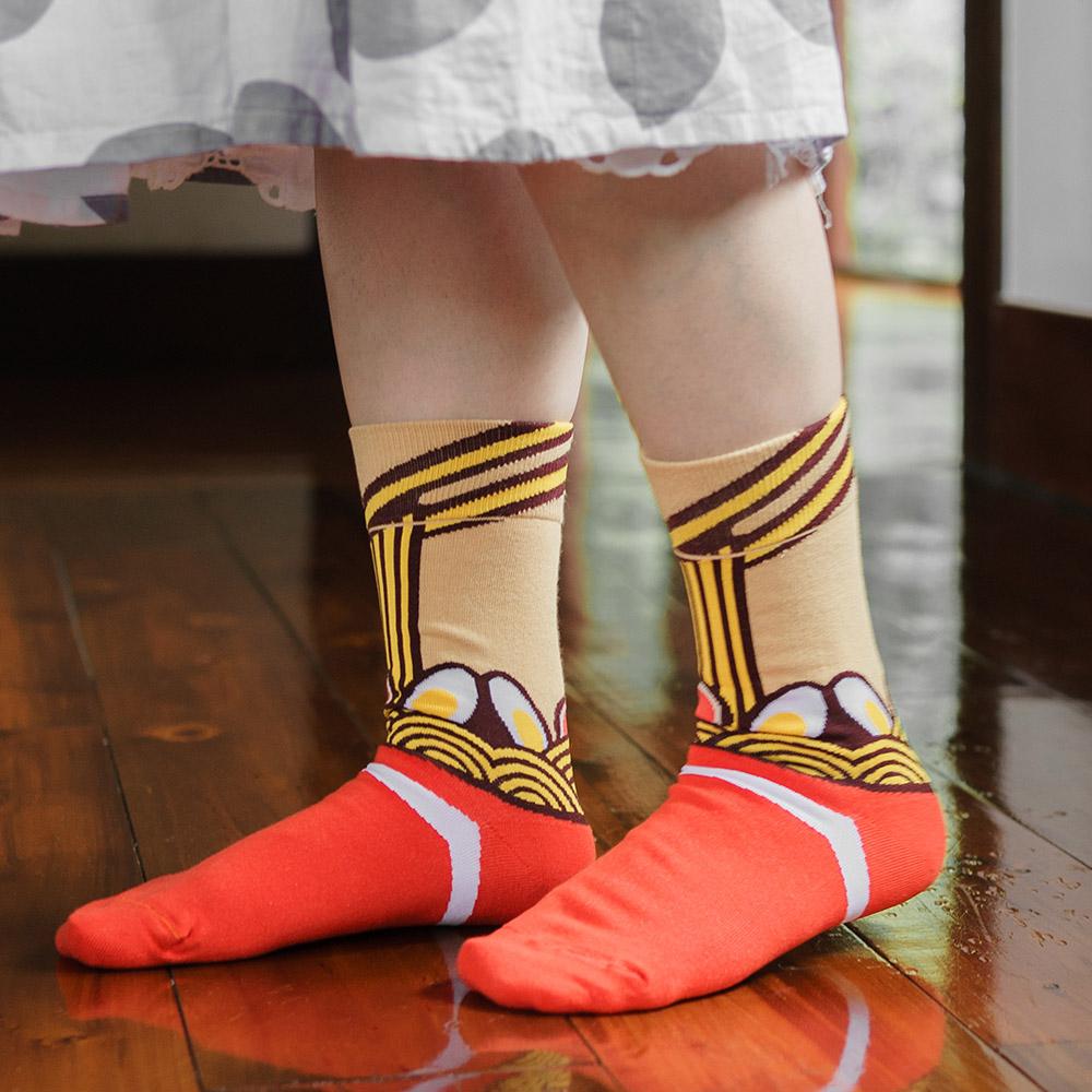 sokker® 自慢拉麵4分之3襪