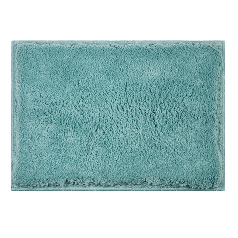 日本品織 橋爪商店 吸水柔棉浴墊 - 湖水藍
