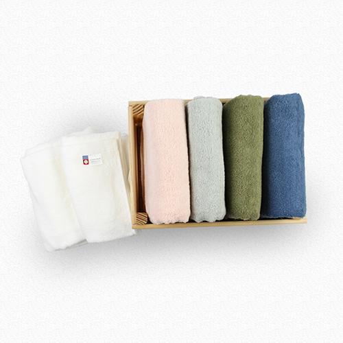 日本品織|ORIM QULACHIC 今治浴巾 - 淺灰色