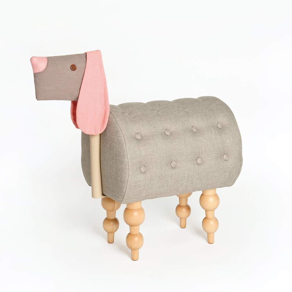 biaugust deco|動物家俱椅/彩色貴賓小狗椅