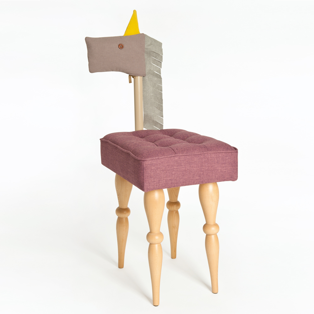 biaugust deco|動物家俱椅/彩色小馬椅