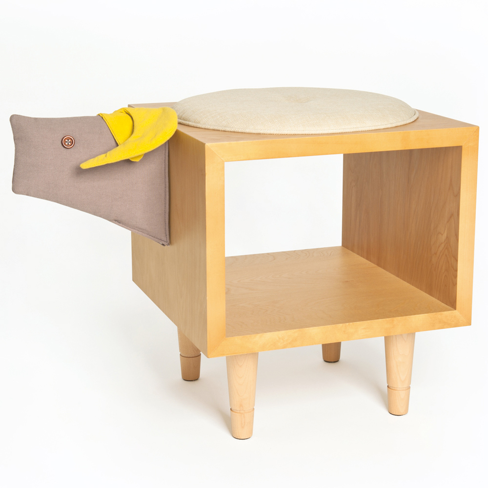 biaugust deco 動物家俱椅/彩色水牛椅櫃