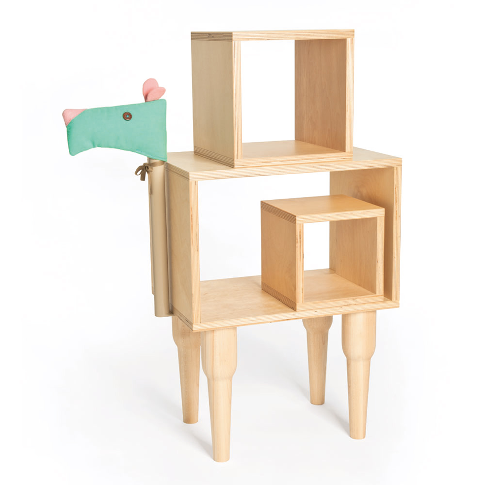 biaugust deco 動物家俱/駱駝三層櫃