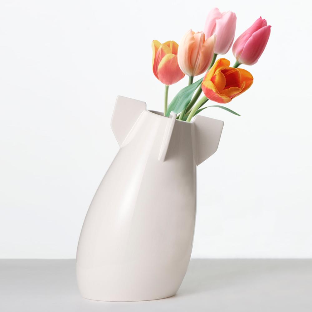 biaugust deco|反戰系列/一個和平的炸彈(花瓶)/白