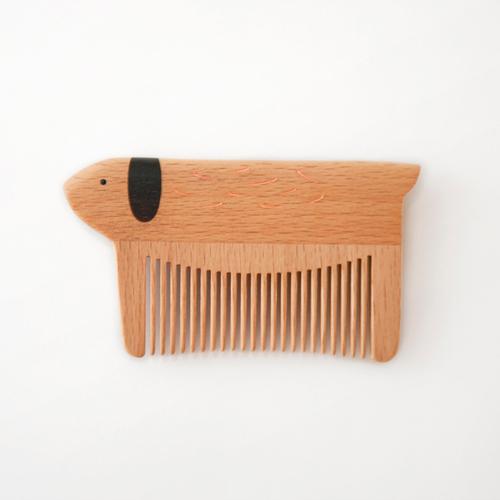 譚木匠|諾亞方舟/櫸木小狗梳