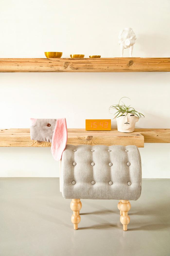 (複製)biaugust deco|動物家俱椅/彩色小羊椅