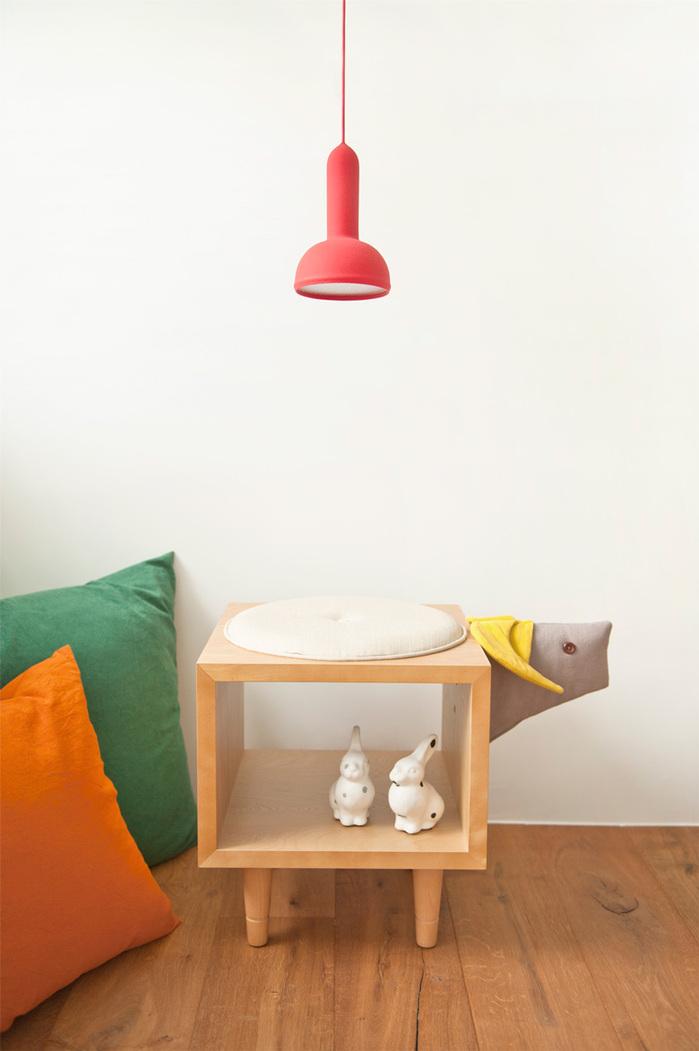(複製)biaugust deco|動物家俱椅/彩色小馬椅