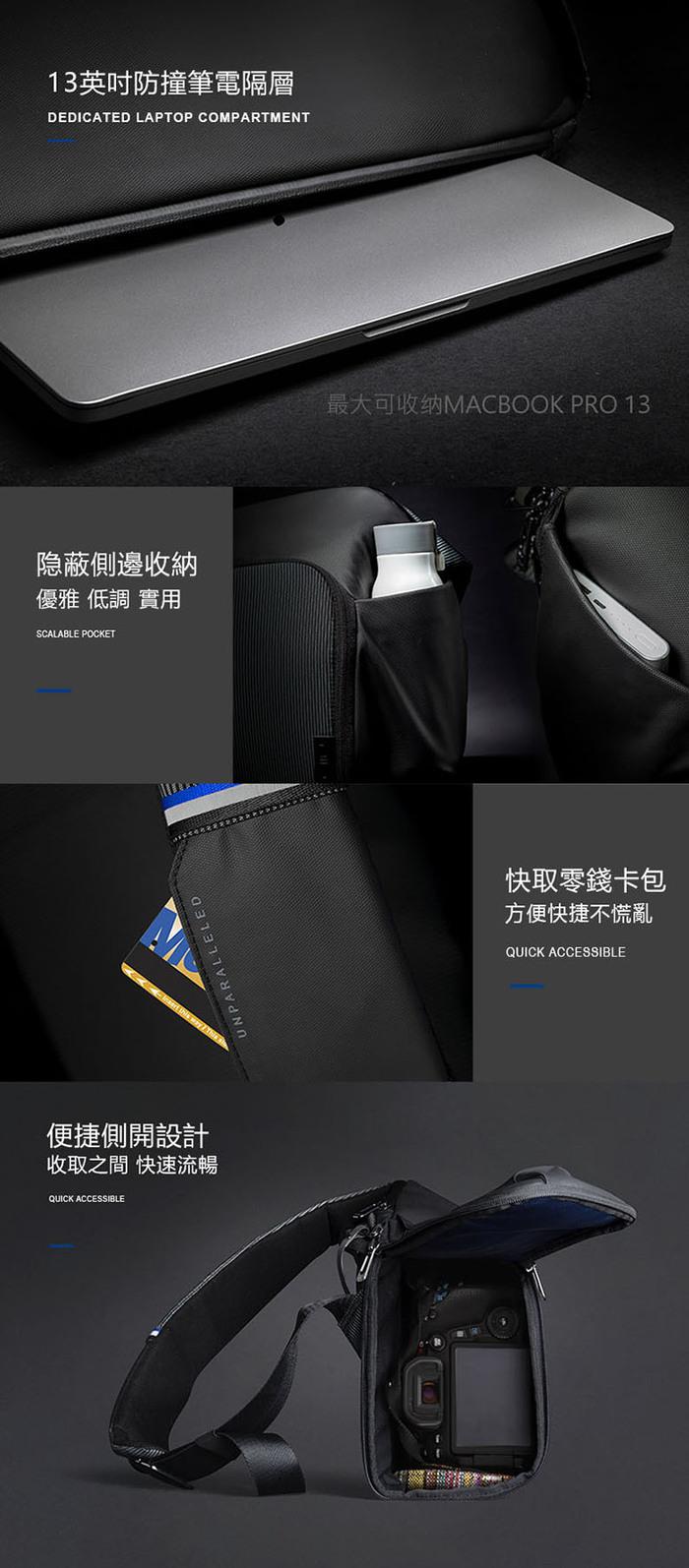 【集購】NIID│DECODE SLING 科技單肩包