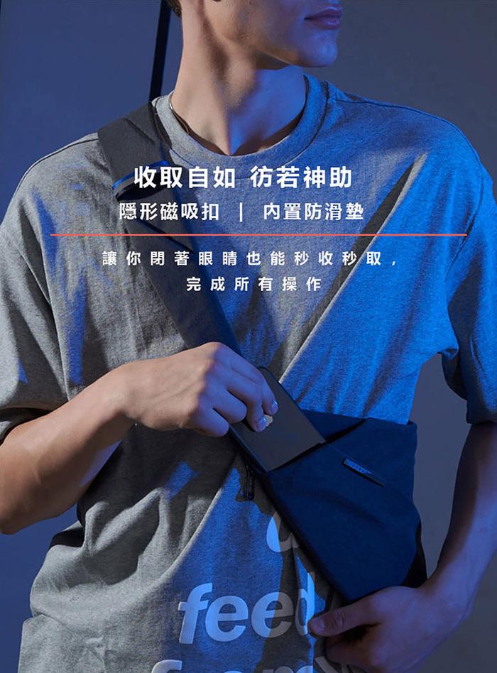 【FINO槍包】D1 第三代型男超薄貼身防盜包