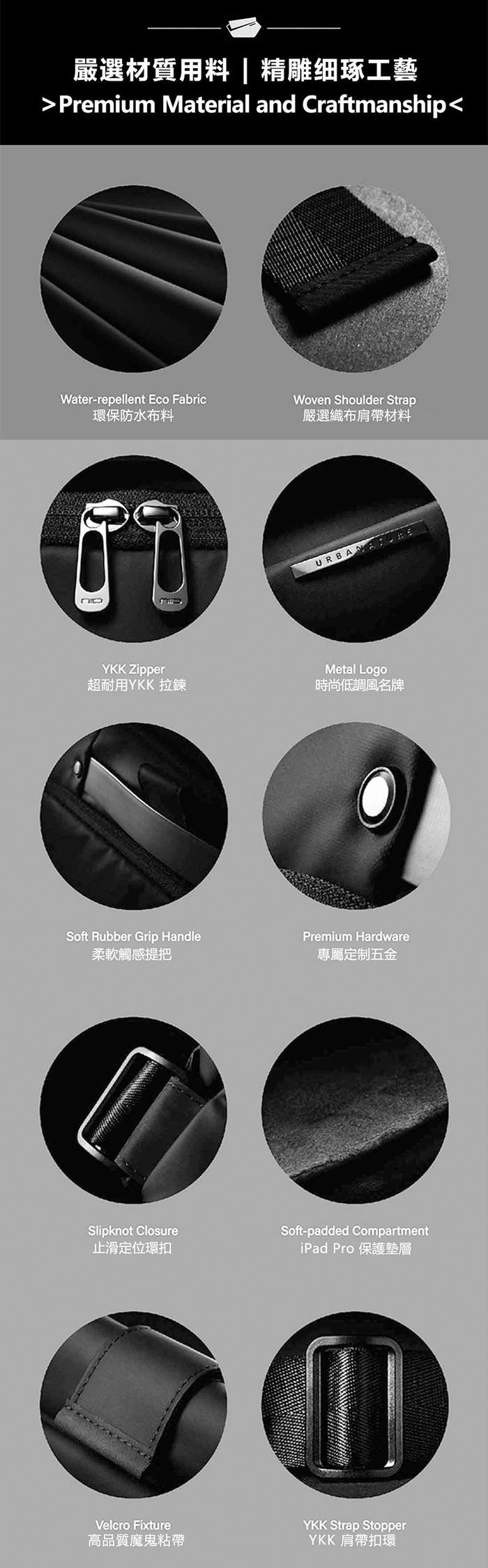 【集購】Radiant | R1 極速行動單肩包