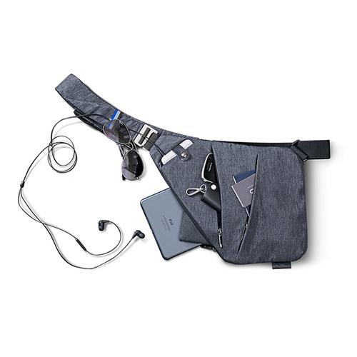 NIID|【FINO槍包】型男超薄貼身防盜包(一代) 太空灰 (右手款)