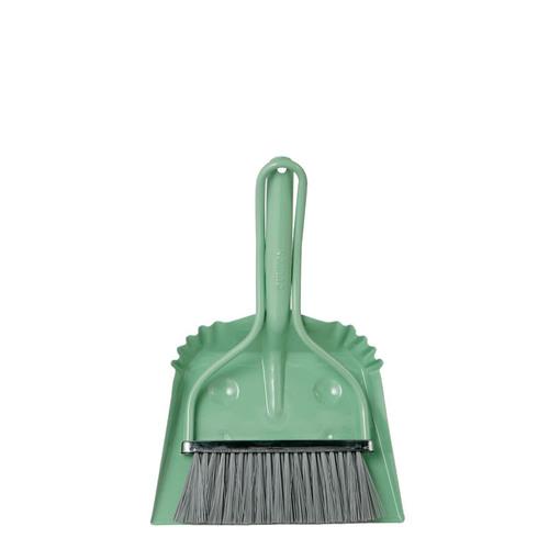 Dulton|工業風小掃把 綠色