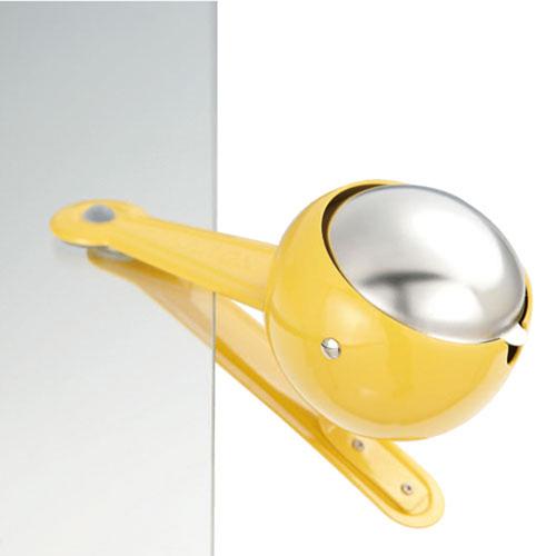 Dulton|夾式菸灰缸 黃色