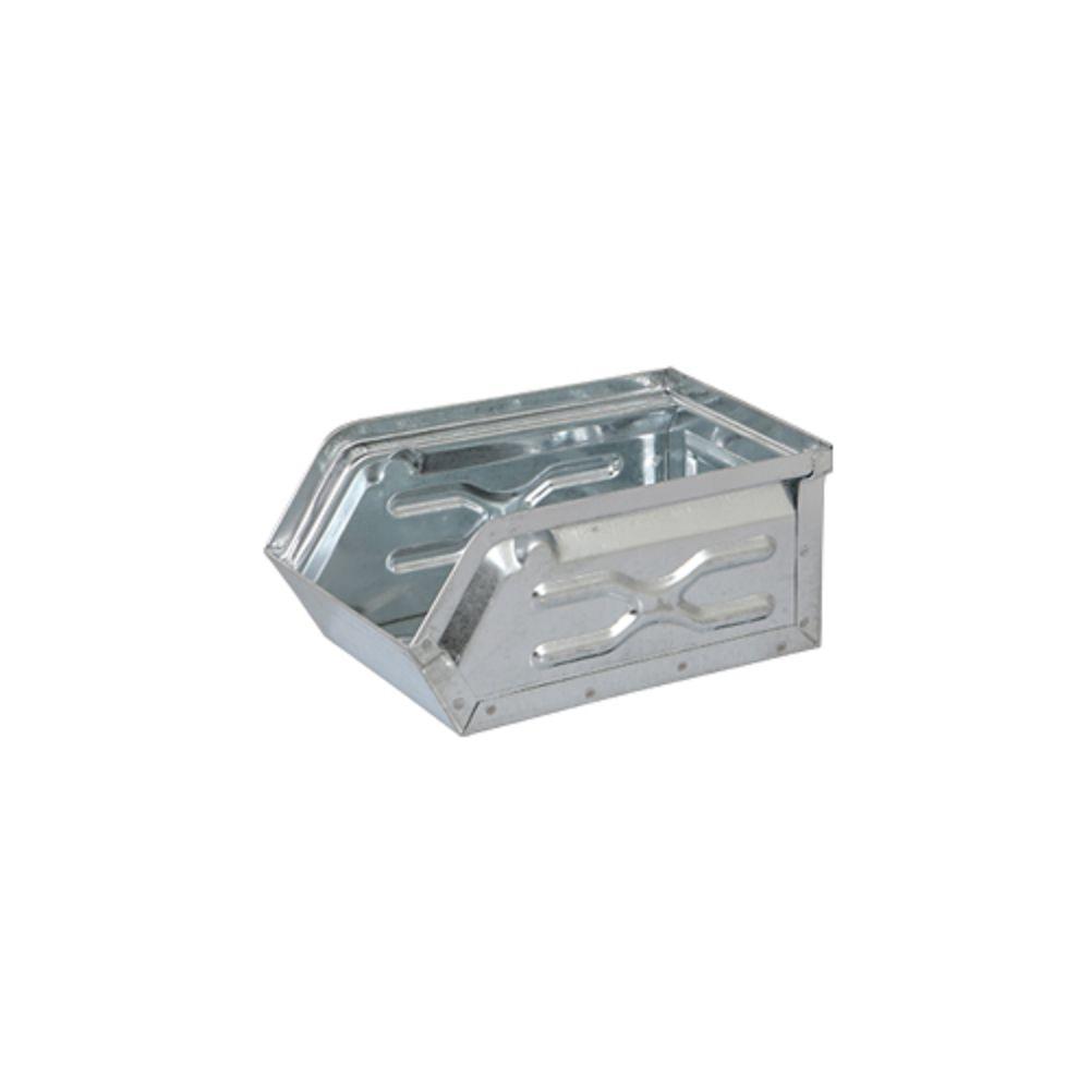 Dulton|工業風收納盒 (小) 銀色