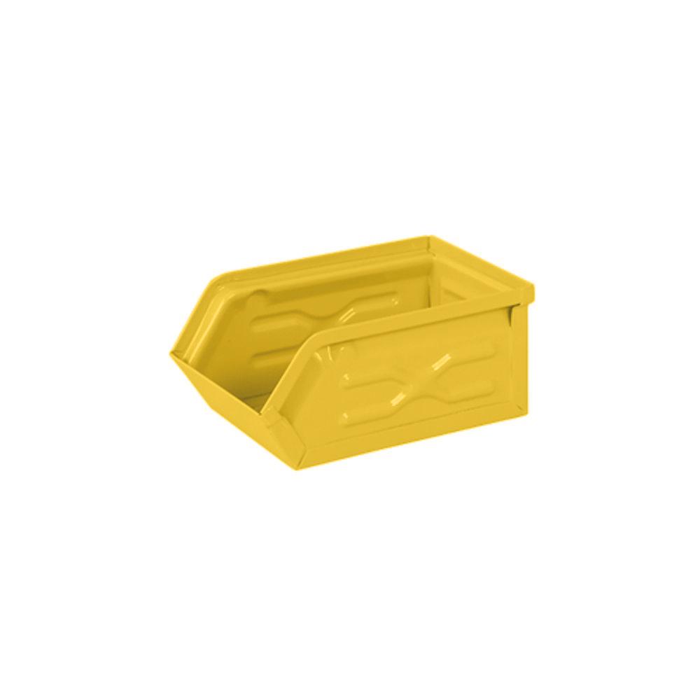Dulton|工業風收納盒 (小) 黃色
