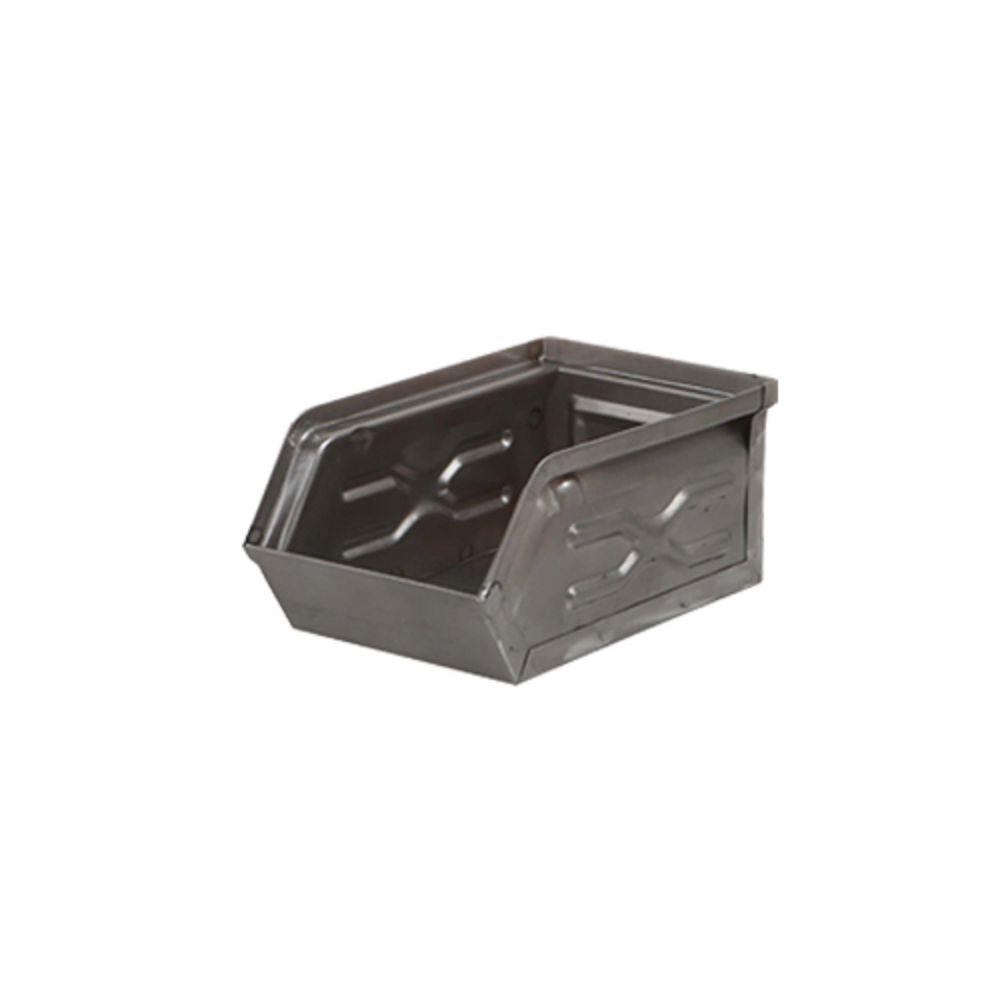 Dulton|工業風收納盒 (小) 棕灰色