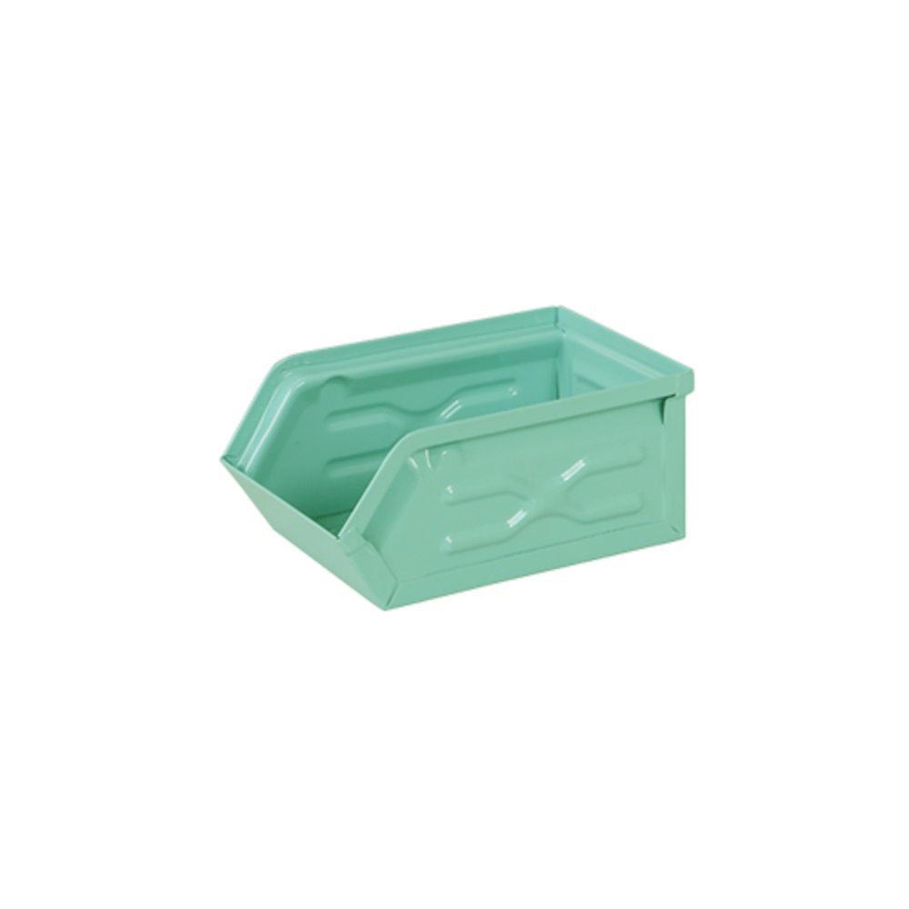 Dulton 工業風收納盒 (小) 湖水綠