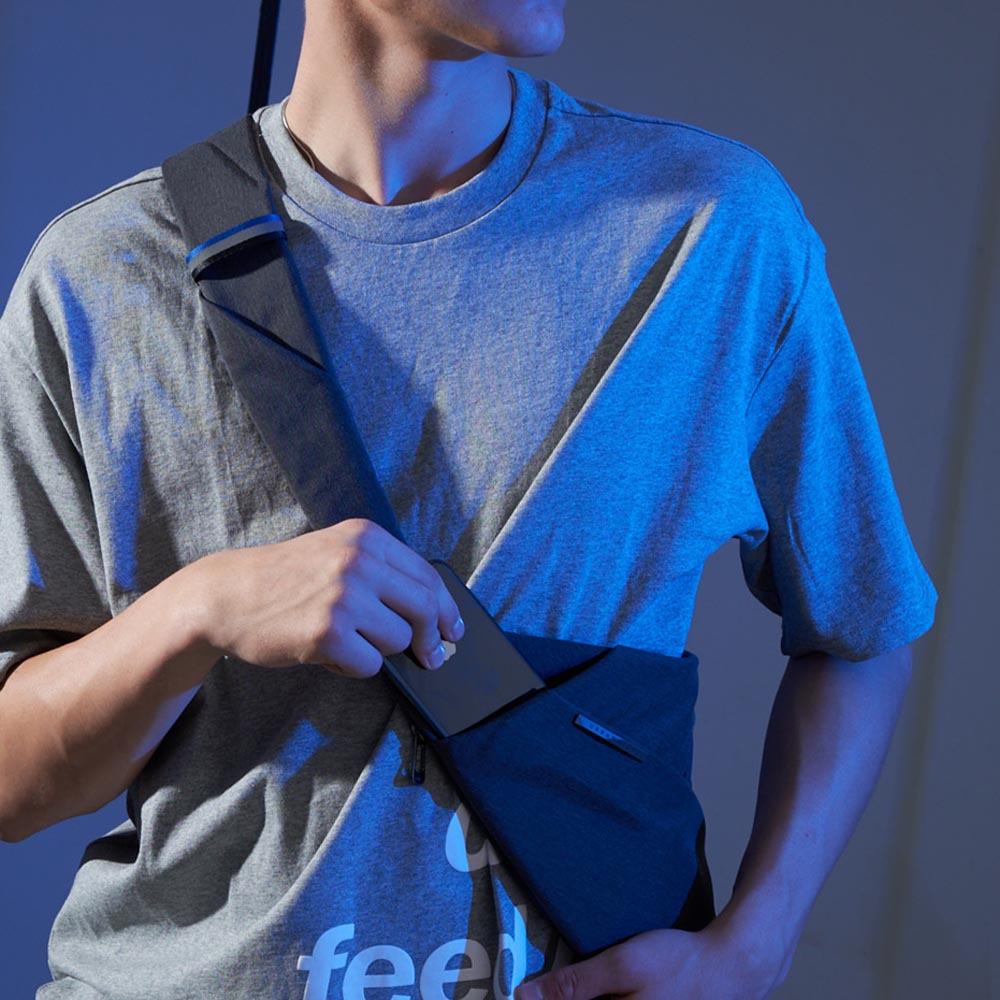 NIID X Urbanature  【FINO槍包】D1 (全新第三代) 型男超薄貼身防盜包