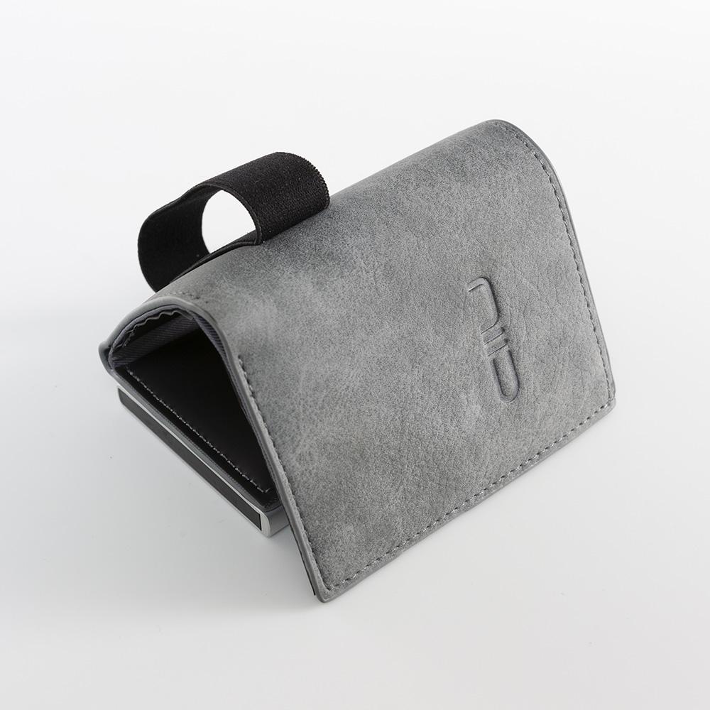 NIID|SLIDE II Mini Wallet 防盜刷科技皮夾 - 霧灰