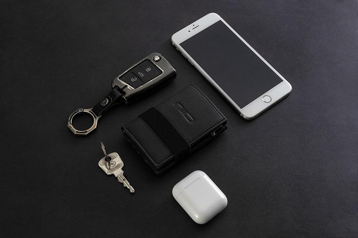 (複製)NIID x SLIDE II Mini Wallet 防盜刷科技皮夾 - 霧灰