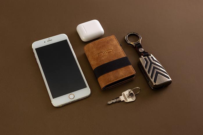 (複製)NIID x SLIDE II Mini Wallet 防盜刷科技皮夾 - 墨黑