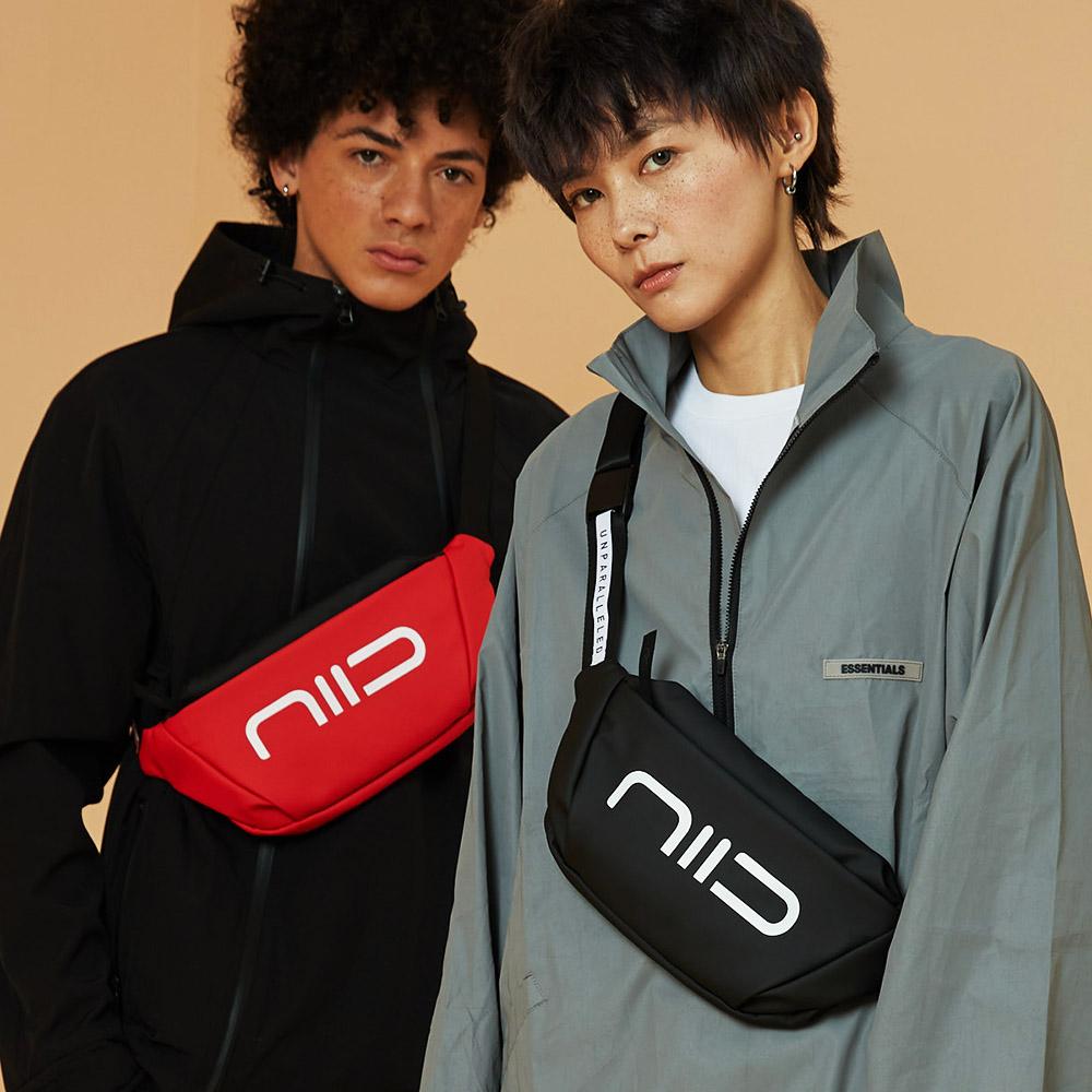 NIID|Statement 玩色宣言 S3 防水隨身斜背小包(四色選購)