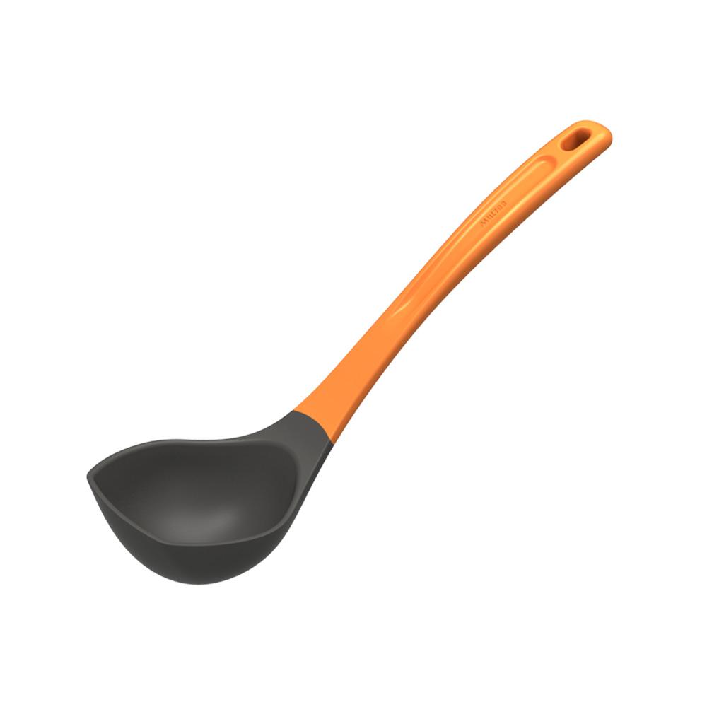 MULTEE摩堤|烹飪工具組-湯勺_橘色