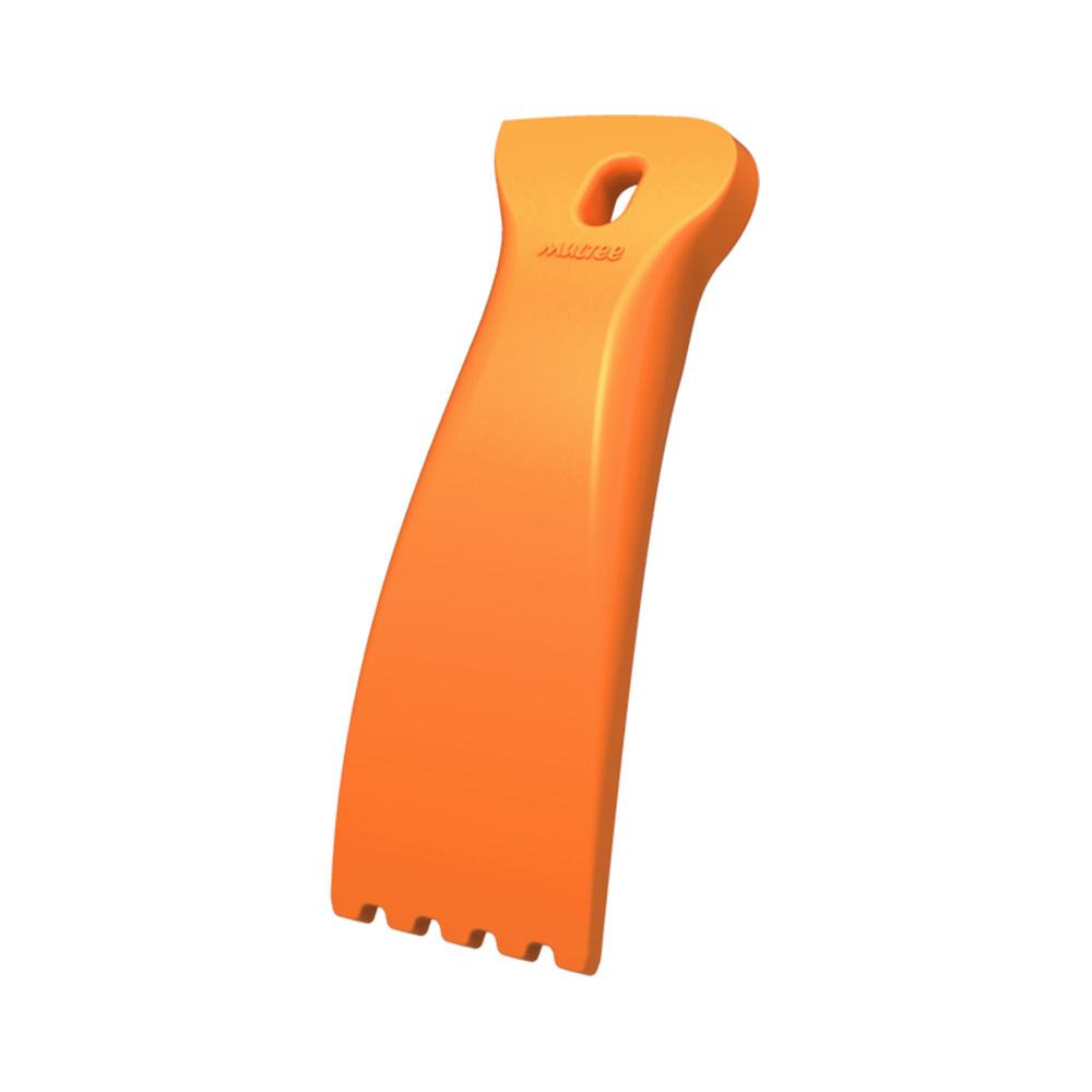 MULTEE摩堤|無毒矽膠烹飪工具組-清潔刮刀_橘色