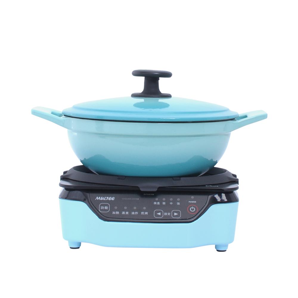 MULTEE摩堤|小資成家A_20cm媽媽鍋+A5PLUSIH電磁爐
