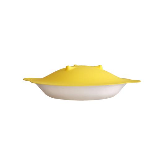 MULTEE摩堤|22cm多功能矽晶盤蓋_檸檬黃