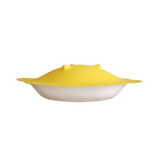 MULTEE摩堤|28cm多功能矽晶盤蓋_檸檬黃