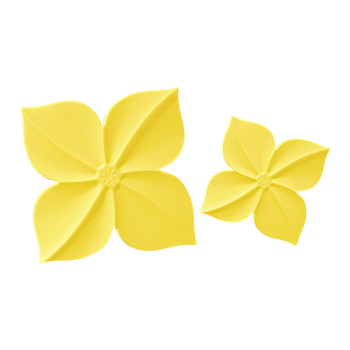 MULTEE摩堤|四照花矽晶隔熱墊組_奶油黃