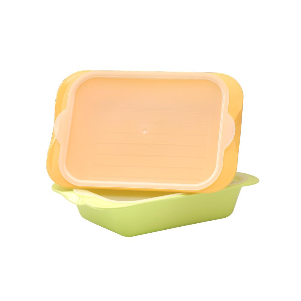 MULTEE摩堤 醃漬盒_蘋果綠&淺鵝黃