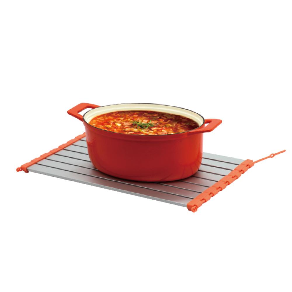 MULTEE摩堤|45cm調整型鮮食解凍卷_橘銀色款
