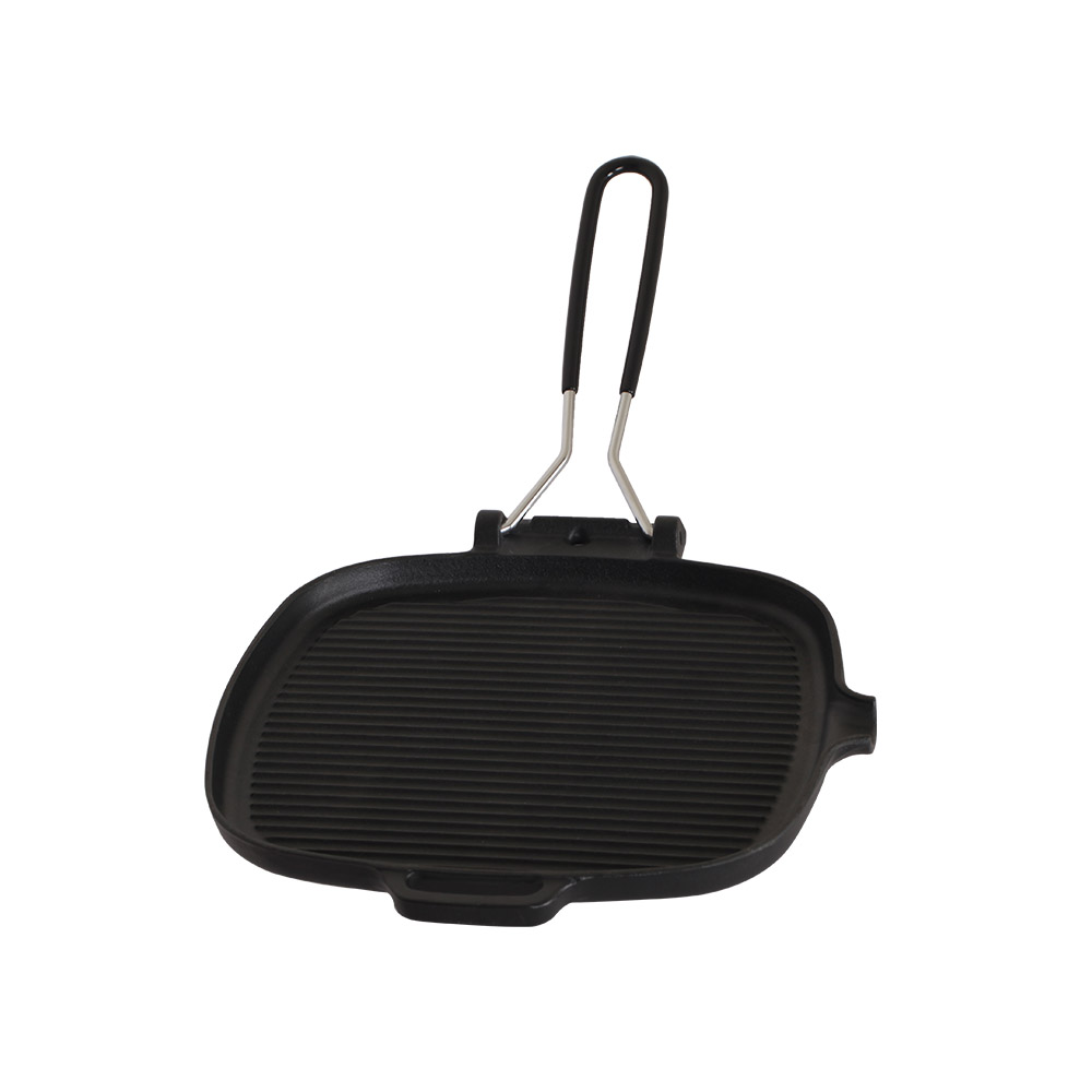MULTEE摩堤|24cm鑄鐵Togo方肋烤盤