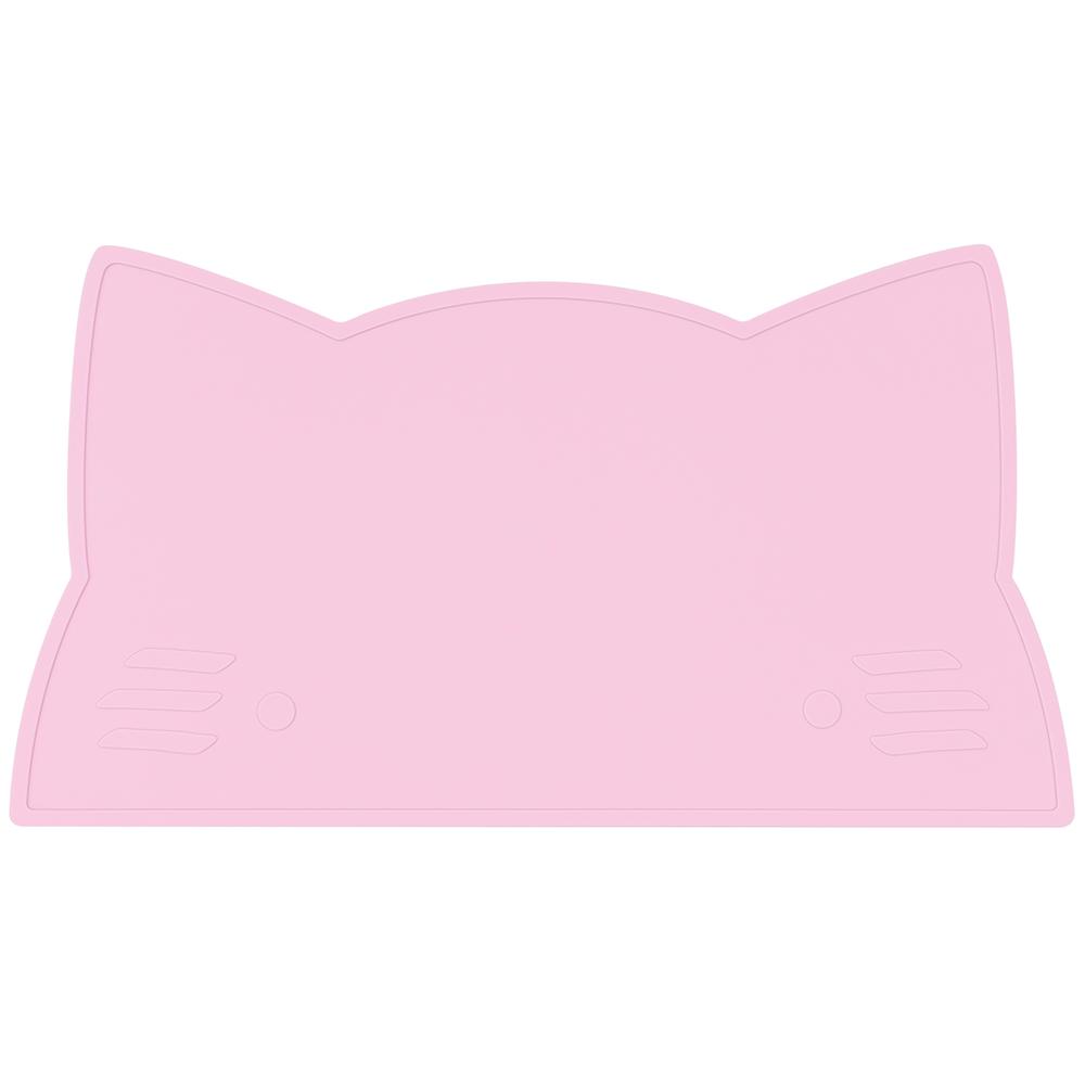 澳洲We Might Be Tiny|矽膠防滑餐墊小花貓-粉紅
