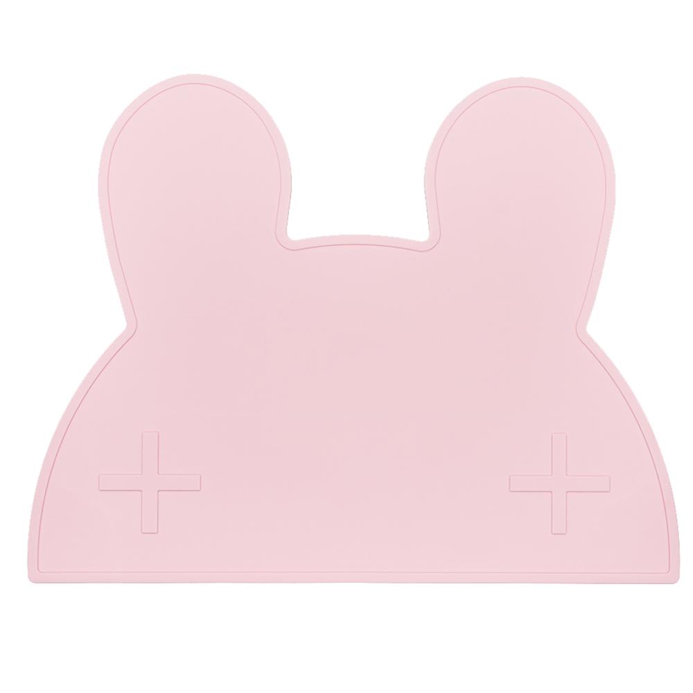 澳洲We Might Be Tiny|矽膠防滑餐墊兔寶寶-粉紅