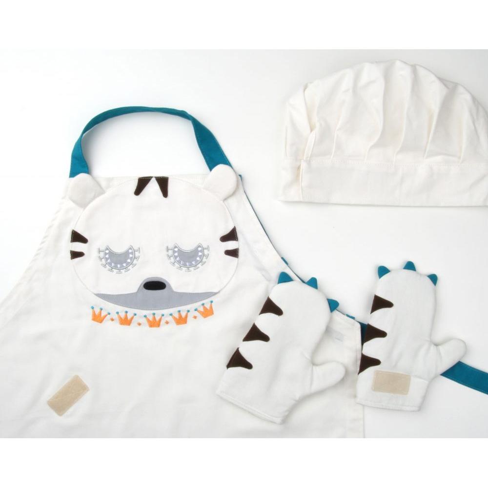 韓國 KOOROOM | 兒童圍裙-老虎TiTi