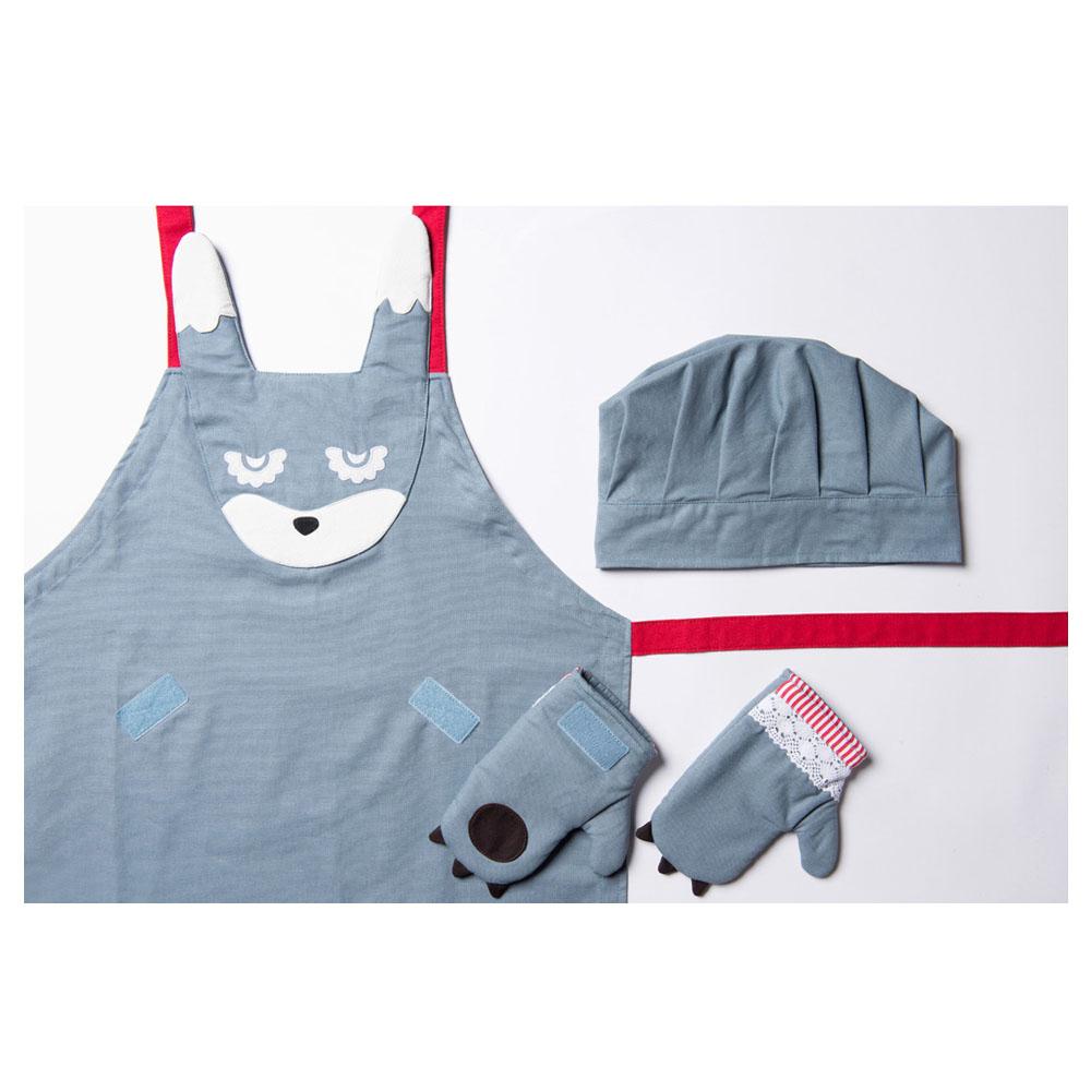 韓國 KOOROOM|兒童圍裙-兔兔LuLu